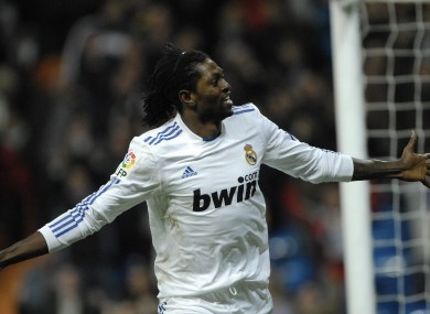 Adebayor would prefer to stay at Real Madrid rather than join Blackburn.