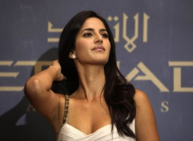 Some of the shoot locations will be kept secret to avoid crowds. Pictured is Katrina Kaif.