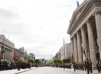 An Easter Rising Commemoration in 2011
