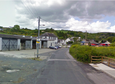 New Street in Killaloe, Co Clare, where an 83-year-old man died this morning.