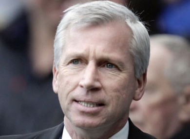 Pardew has overseen Newcastle's best season in years.