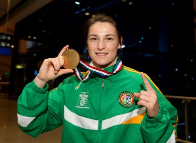 Katie Taylor will hope to add to her European and World championships at Londo