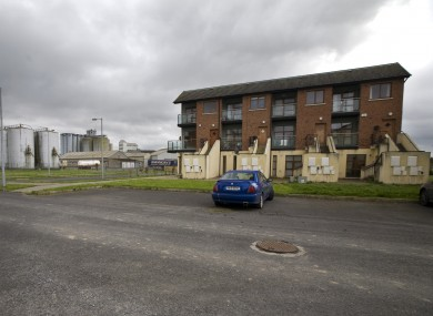A ghost estate in Co Laois. Almost 10% of Nama loans relate to unfinished properties
