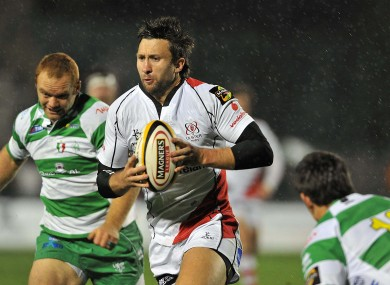 Simon Danielli in action against Treviso last seas