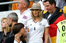 German soccer player's model girlfriend was asked to not dress too sexy at the Euros