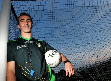 Jim McGuinness: it's a passion.