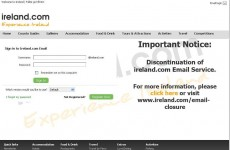 @ireland.com email users slam 'disgraceful' decision to end service