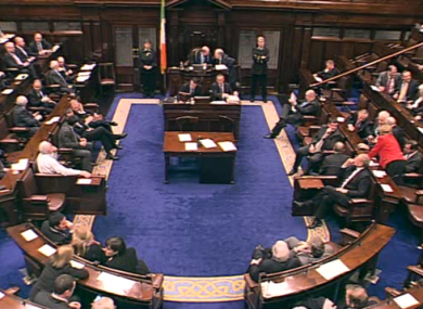 TDs had one of their latest nights of the year last night - staying until after 11pm to vote on approving a new Property Tax.