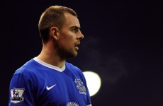 Darron Gibson facing a month on the sidelines, says Everton boss David Moyes
