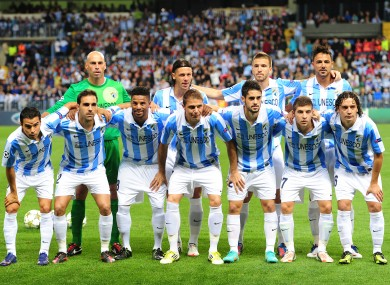Malaga have advanced to the last 16 of this year's Champions League.