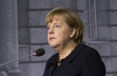 Hitler's rise to power a 'constant warning', says Merkel