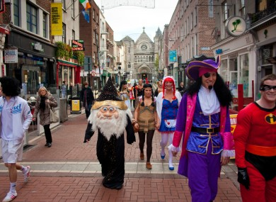 The Grafton Street area will have free WiFi services from next month - irrespective of how you're dressed.