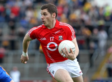 Cork attacker Daniel Goulding.