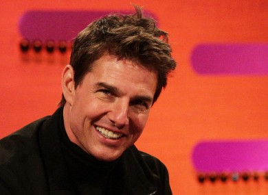 Tom Cruise's rage face