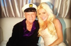 PICTURES: Original Playboy Hugh Hefner marries for third time