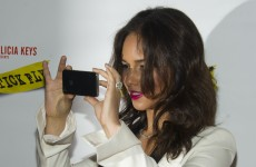 Rumbled: BlackBerry creative director Alicia Keys caught using iPhone