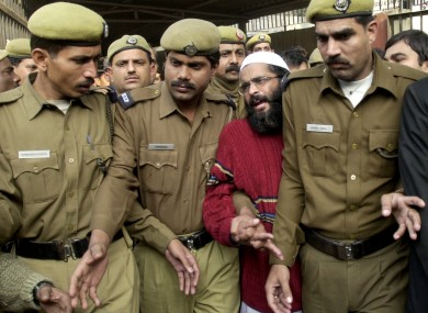 File photo of Mohammed Afzal Guru.