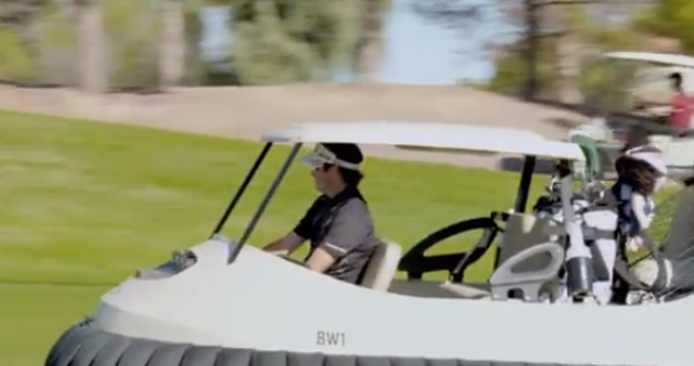 WATCH: Bubba Watson has an ingenious idea – golf hover carts