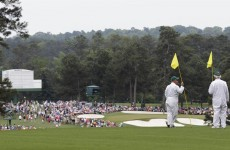 Watching the Masters? Come hang out with the cool kids in our open thread