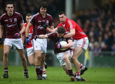 Cork's Brian Hurley will be in action against Galway.