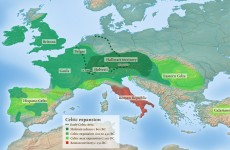 The ancient Celts: More Europe-wide than you would think