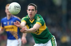 Kerry's Declan O'Sullivan gets all-clear after x-ray on jaw injury