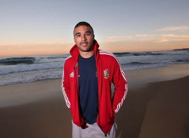 Simon Zebo is in line for his Lions debut.