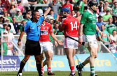 McLoughlin describes Horgan's sending-off for Cork as 'outrageous'