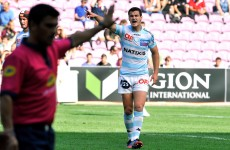 League debut awaits as Jonathan Sexton named outhalf for Racing Metro