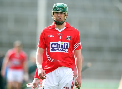 Cork's Brian Murphy returns to the starting XV against Clare on Sunday.