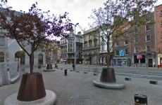 Man has face slashed in Dublin City centre
