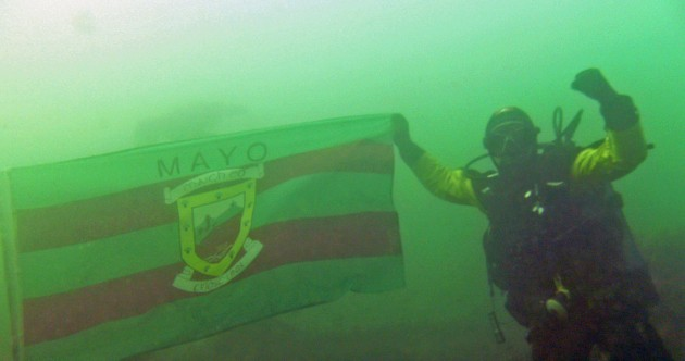 The 'Mayo for Sam' campaign gains support from the bottom of the ocean