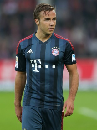 Mario Goetze is back in contention for Bayern.