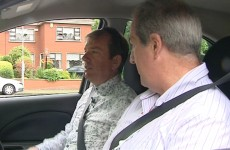 Alan Hughes fails his driving test on camera