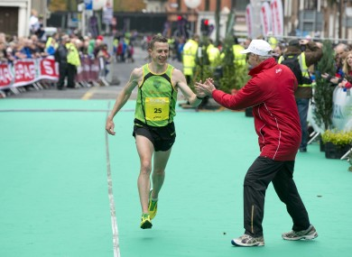 Barry Minnock: one of the top Irish finishers in 2012.
