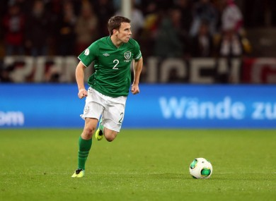 Coleman was one of the few positives for Ireland last night.