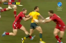 VIDEO: Quade Cooper's magical pass sets up Wallabies try