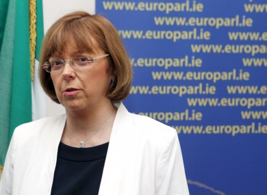 Irish Labour MEP Emer Costello.