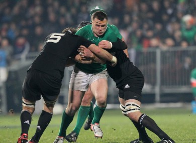 Cian Healy can expect a warm reception from the All Blacks on Sunday.