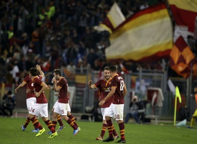 Roma: we're on the bandwagon.