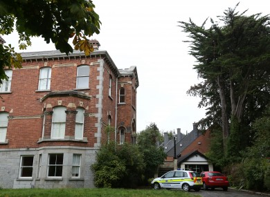 Gardaí and the Criminal Assets Bureau at McFeely's former home in September