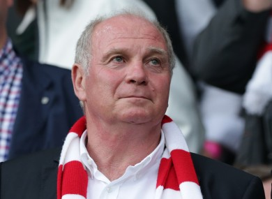 Bayern president Uli Hoeness faces allegations of tax evasion.