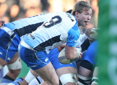 Kieran Marmion dived over for the match-winning try against Toulouse last week.