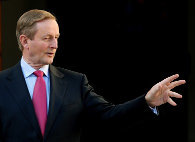 Enda Kenny is back from Japan and ready to rumble.