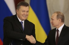 Putin woos Ukraine President with €11 billion bond deal