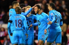 John O'Shea own goal gifts Spurs win after Hugo Lloris strikes again