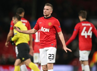 Tom Cleverley has had increased pressure foisted upon him after Michael Carrick's injury.