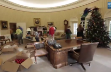 WATCH: Here's how the White House gets decorated for Christmas