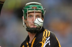 Henry Shefflin back in Kilkenny side for Walsh Cup semi-final
