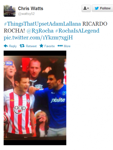 Our pick of the best #ThingsThatUpset AdamLallana tweets